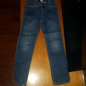 Children Place girls Jean's  size 6/7 great condit